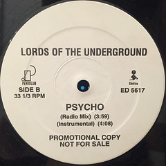 LORDS OF THE UNDERGROUND:PSYCHO(LABEL SIDE-B)