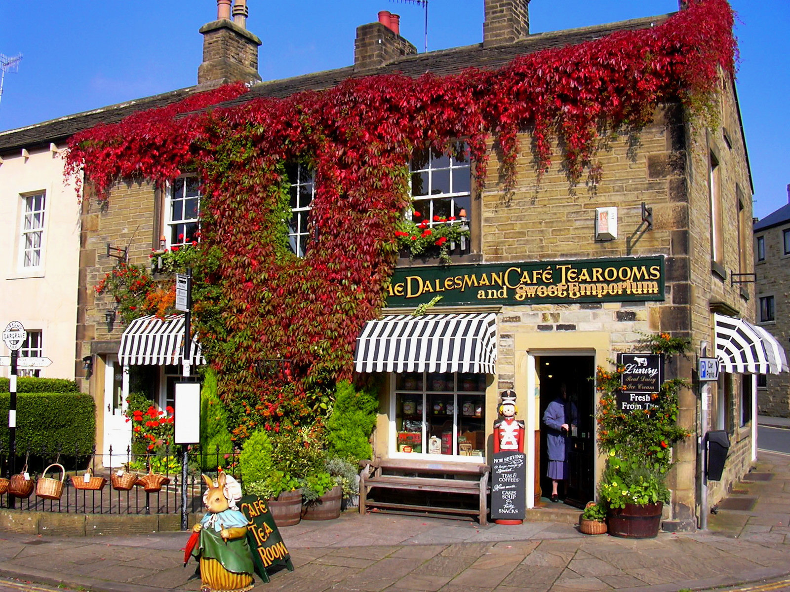 The Dalesman Cafe Gargrave on the outskirst of the Yorkshire Dales