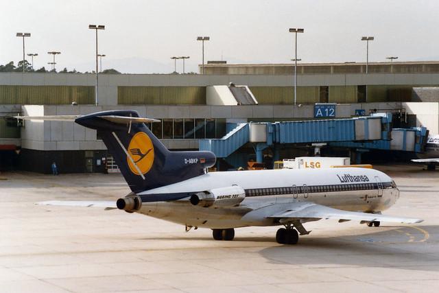 Lufthansa Boeing 727-230/Adv D-ABKP