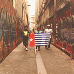 Tommy Latupeirissa, Struggling for West Papua in Union Lane, Melbourne