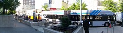 MARTA Articulated Bus With MARTA Community Bus and Atlanta Transit System Old Look