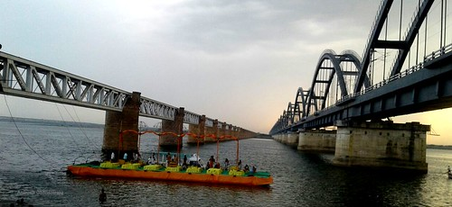 river godavari archbirdge havelockbridge rajamahendravaram