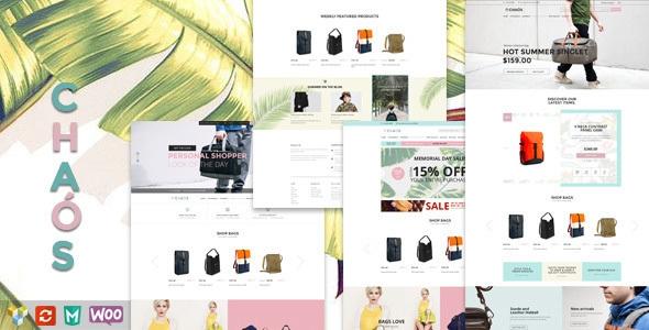 Chaos v1.2 - Responsive Bag Shop Theme