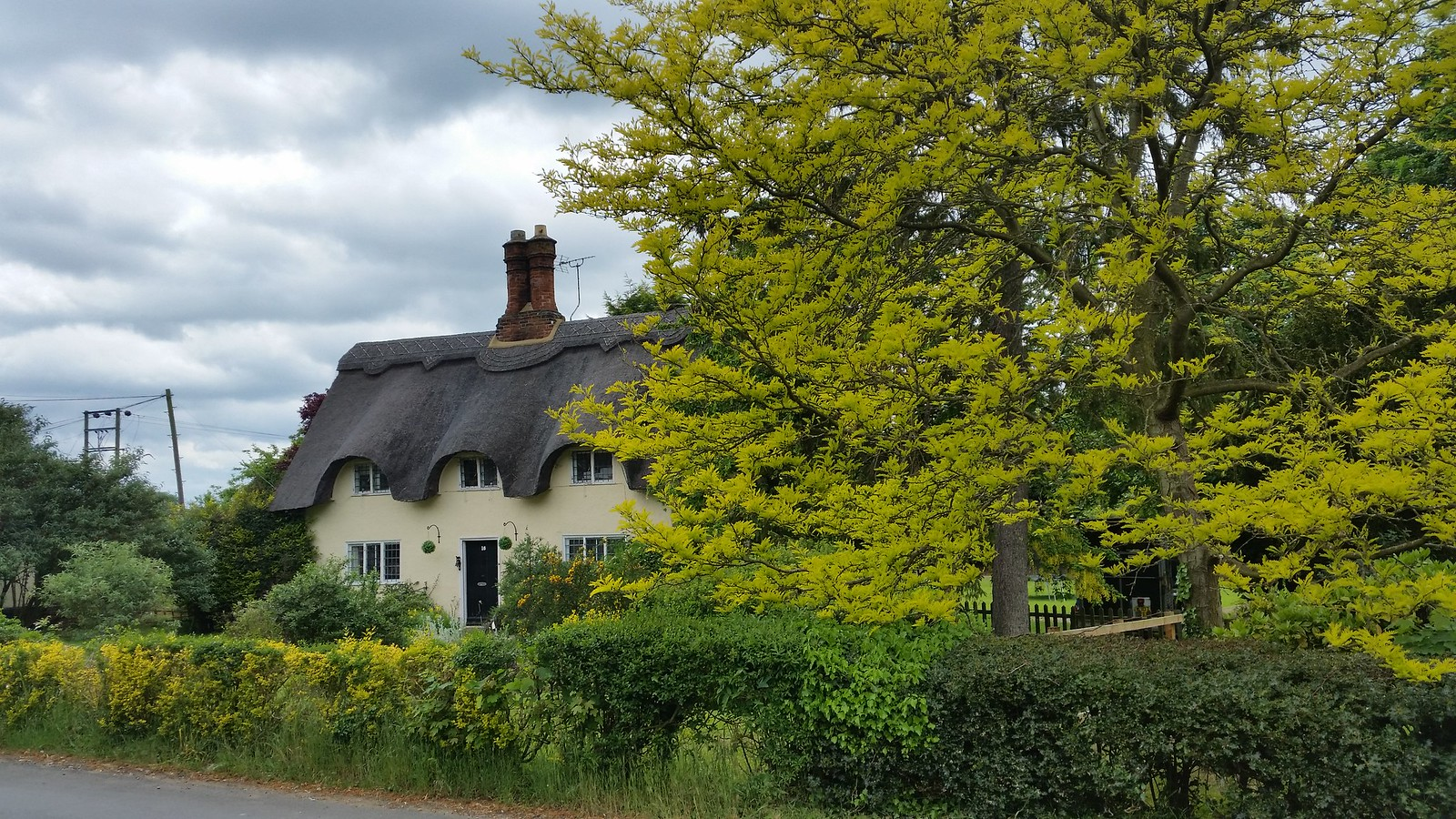 Thatched cottage Old Warden