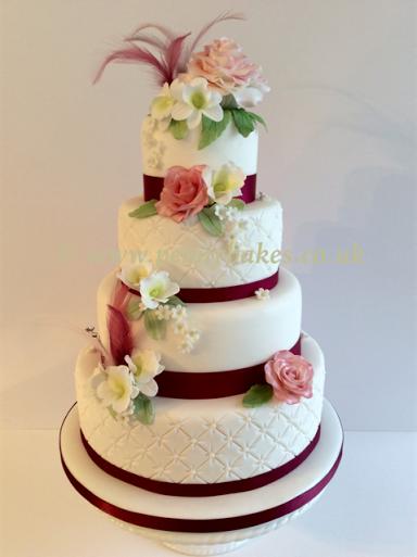 Fantasy Wedding Cake by Penny Grundon