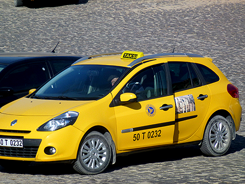 Yellow taxi's are plentiful in Istanbul are are normally safe, quite reliable and reasonably economic to use.