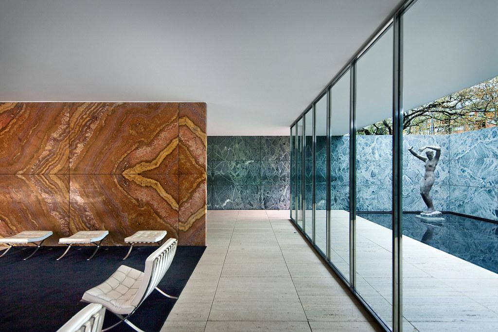 barcelona pavilion barcelona spain skyscrapercity. Black Bedroom Furniture Sets. Home Design Ideas