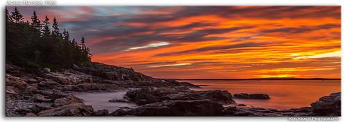 longexposure sunrise maine atlanticocean acadia acadianationalpark mygearandme