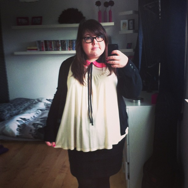 Friday's outfit #ootd #plussize #fatshion