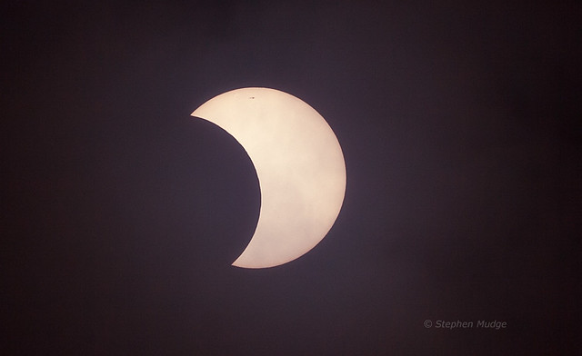 Partial solar eclipse 10May13 small