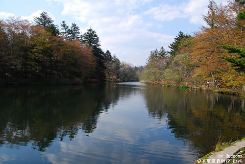 雲場池一景