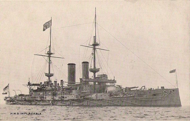 HMS Implacable 1906