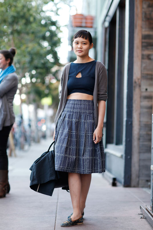 lynn_4b San Francisco, street fashion, street style, Valencia Street, women