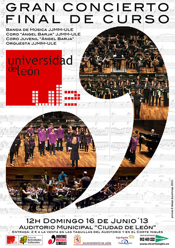 GRAN CONCIERTO FINAL DE CURSO JUVENTUDES MUSICALES UNIVERSIDAD DE LEÓN - DOMINGO 16 JUNIO´13 by juanluisgx