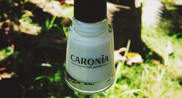 Caronia in White Satin Nail Polish Review