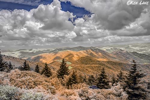 mountain landscape ir landscapes nikon tennessee northcarolina infrared nikkor roan d300 roanmountain nikond300 grassyridgebald 665nm kolarivision
