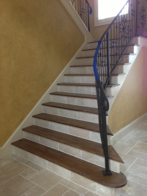 Tile Stair Treads And Risers