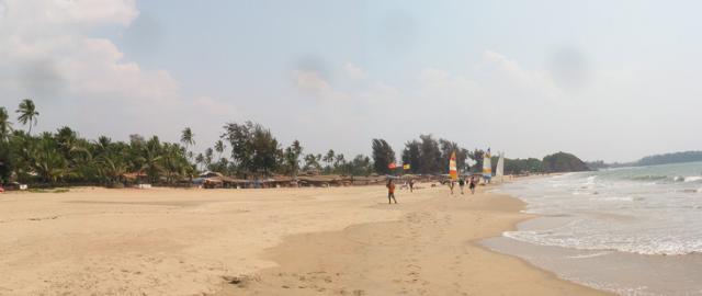 south goa beaches