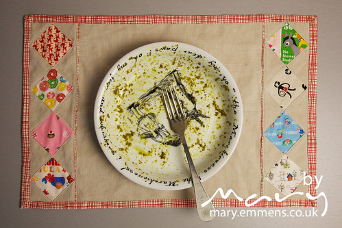 Diamond Patchwork Placemat L