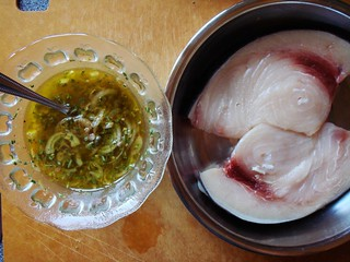 Swordfish: Marinade