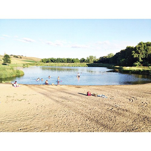 Change of scenery for tonight's swim #summer #iowa  #pictapgo_app