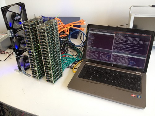 Parallella cluster
