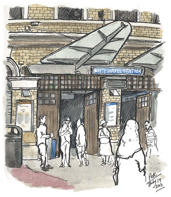 whitechapel station
