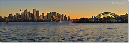 city sunset urban color colour geotagged photography flickr cityscape harbour pano sydney australia icon panoramic nsw po sydneyharbour sydneyoperahouse sydneyharbourbridge markbimagery