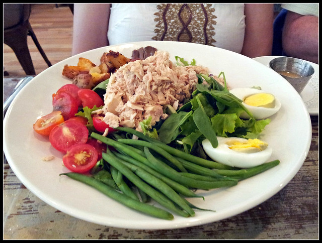 Nicoise salad from The Farmer's Daughter