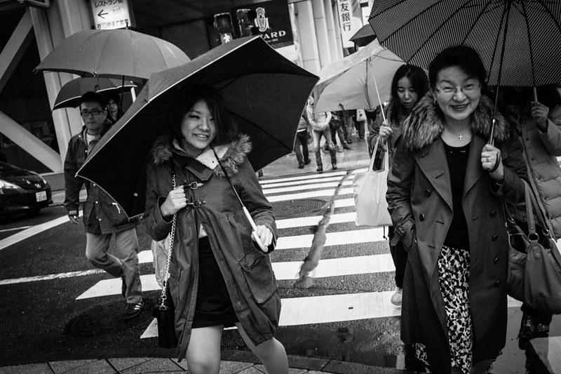 Despite the cold and wet weather the people of Japan were amicable and friendly on the streets!