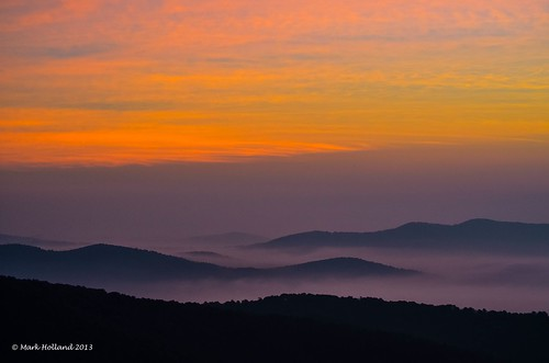 mountains landscape dawn virginia nikon country shenandoah