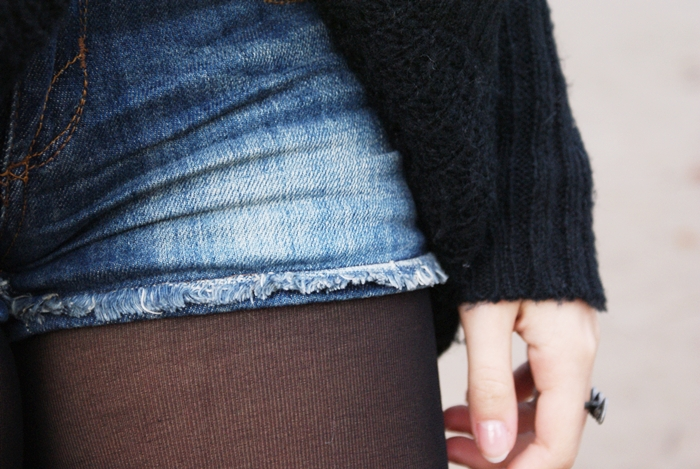 jeansowe spodenki new yorker