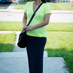 jcrew yellow tee