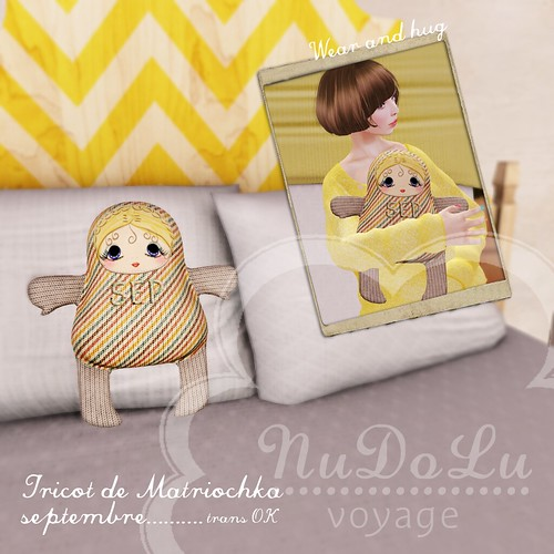 NuDoLu Voyage Tricot de Matriochka SEP for TGGS AD