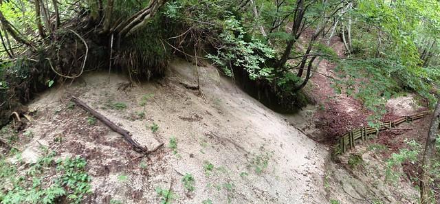 鍋倉山-砂場