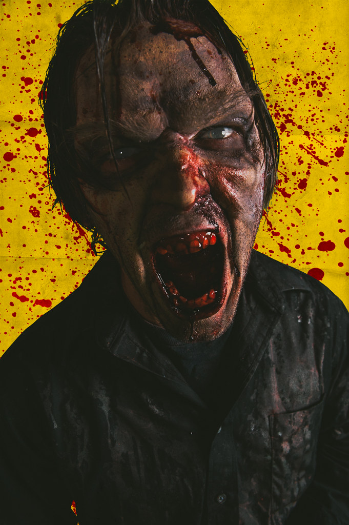 Naked Zombie Girl Day 3 - 14   Read about the movie on my