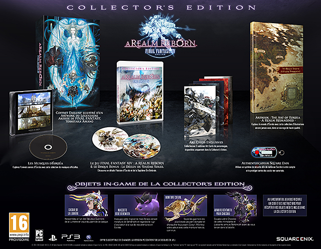 Final Fantasy XIV : A Realm Reborn - Collector's Edition