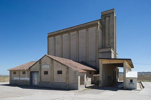 silo del SENPA, Castejón de Monegros (Huesca)