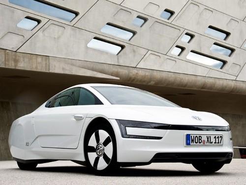 Гибрид Volkswagen XL1 поступил в продажу в США
