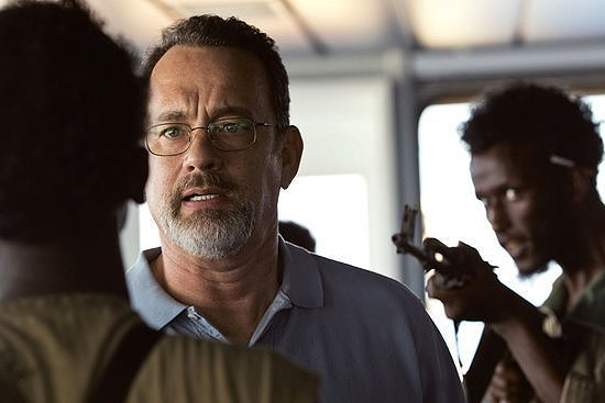 Tom Hanks keeps his cool under pressure in CAPTAIN PHILLIPS.