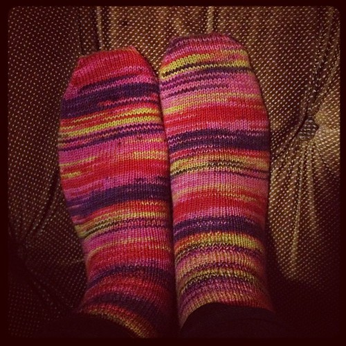 Done! Goodnight all. #warmtoes