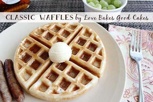 Classic Waffles 4