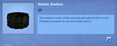 Stately Stadium