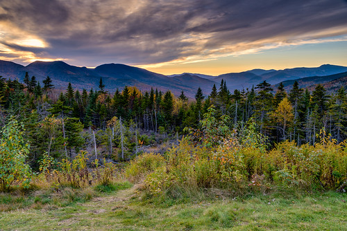 autumn mountains clouds seasons fallcolors newhampshire whitemountains appalachianmountains mountainrange