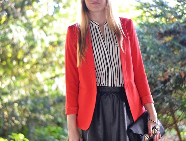 Outfit der rote Blazer (4)