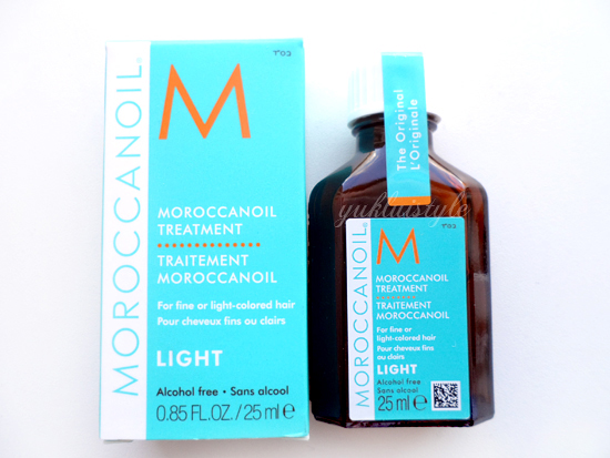 Moroccanoil Treatment Light review and swatch