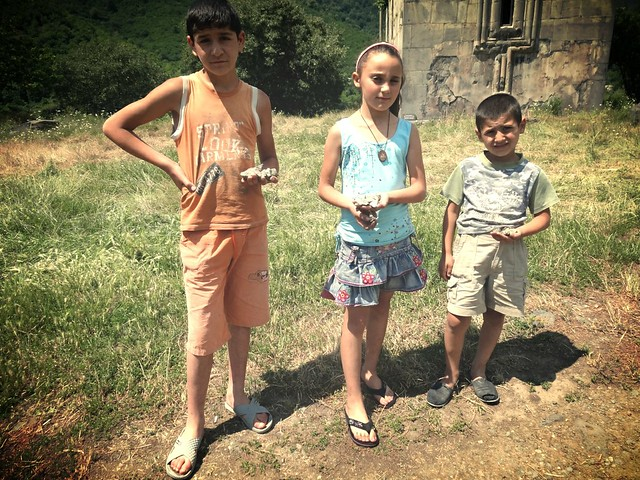 Kids and copper, Akhtala