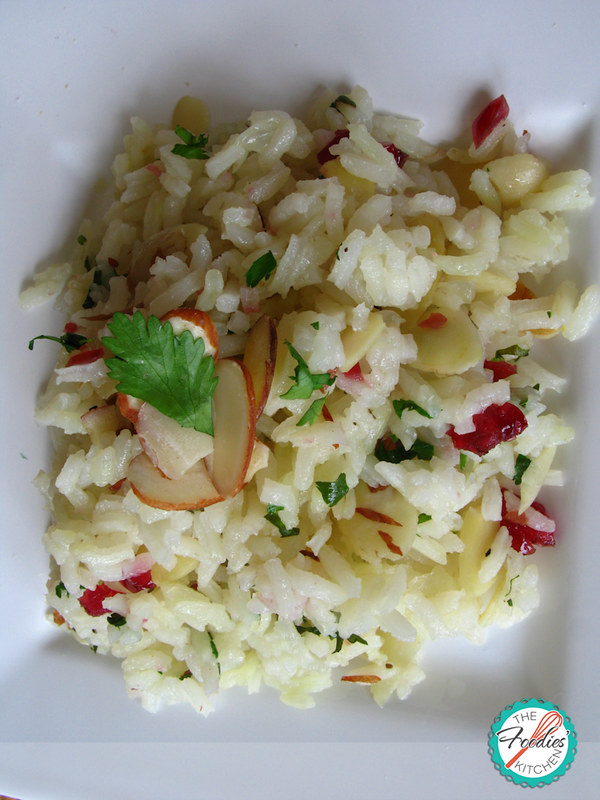Almond Cranberry Rice