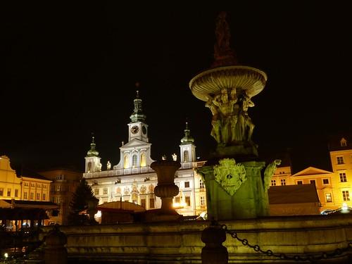 Plaza de Ceske Budejovice (República Checa)
