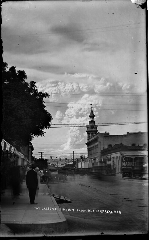 Eruption from Red Bluff